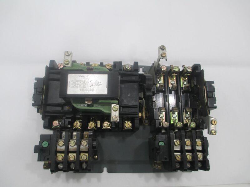 General Electric GE CR106T0  NEMA Size 2 45A 600V Motor Starter