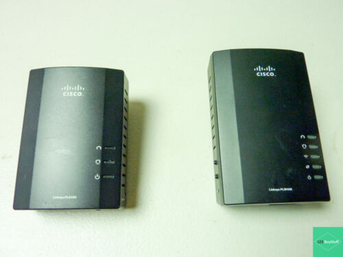 Cisco Powerline Ethernet Adapter Model PLE400 & PLW400 Combo