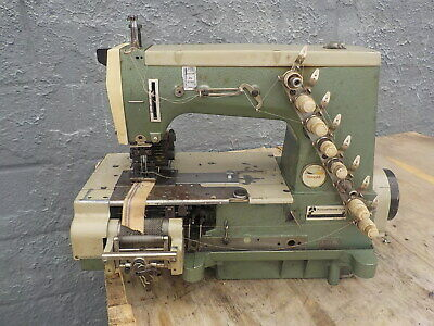 Industrial Sewing Machine Rimoldi 264 Front Meter And Rear Puller4 Needle