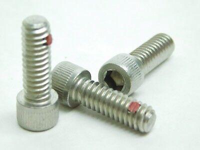 46 Pk 14-20 X 34 Allen Socket Head Stainless Steel Cap Screw Nylon Pellet Nh
