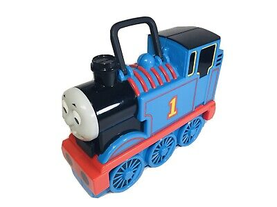 Thomas The Tank Engine Train Take Along Carrying Case 17 Car Holder Storage Toy