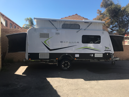 2014 Jayco Expanda Poptop 16.49-4 Outback in excellent condition