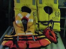 Four Life Jackets Sisters Beach Waratah Area Preview