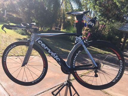 Cervelo P3 Carbon Tri Bike 11 Speed