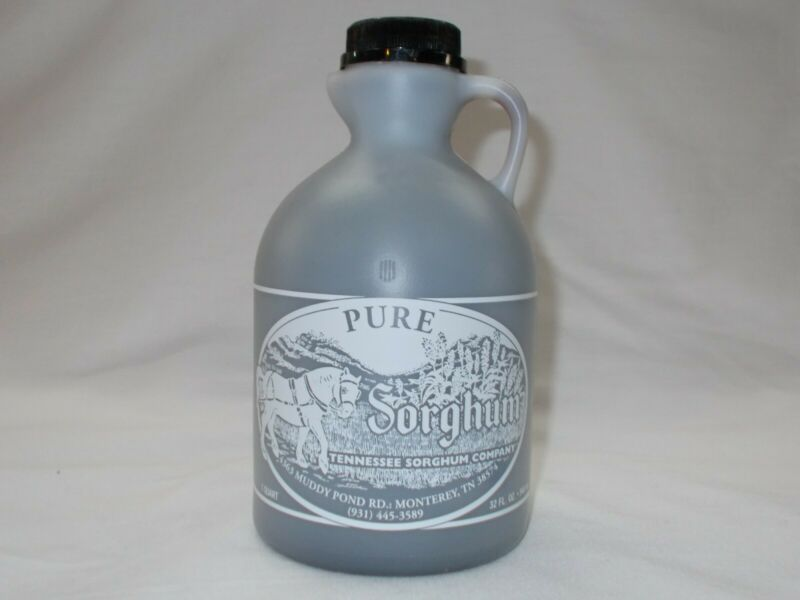Tennessee Sorghum Syrup or Molasses - 1 Quart (32 fl oz or 48 oz net weight)