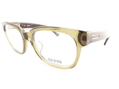 Guess Herren Optisch Gerahmt Brillengestell Oliv Braun Schildplatt 53mm Gu1754 (Herren Guess Brillengestelle)