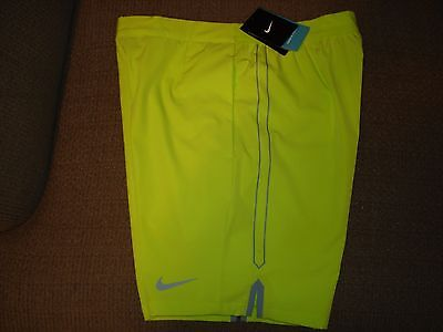 "Used, NWT Nike Gladiator Printed 9"" Tennis Shorts 658060-382 Federer Nadal NEW Large for sale  USA"