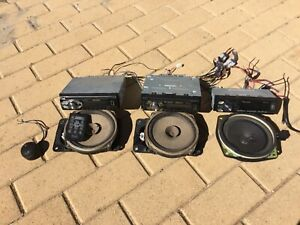 3 Pioneer Car Stereo's And 4 Speakers