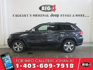 2016 Jeep Grand Cherokee Limited, Sunroof, Leather