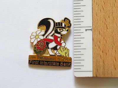 First Interstate Bank Tournament Of Roses  Pin Badge   63