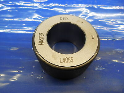 1.4065 Class X Master Bore Ring Gage 1.4063 .0002 Oversize 1 1332 35.725 Mm