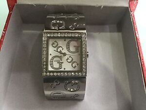 Ladies Sparkling diamanté Guess Silver Watch Woolooware Sutherland Area Preview
