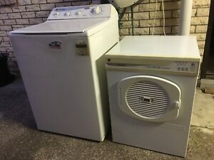 Hoover 7kg Washing Machine Hoover 5kg Dryer Excellent Condition fr $80