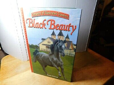 "Book~Treasury of Illustrated Classics ""Black Beauty"" By: Anna Sewell"
