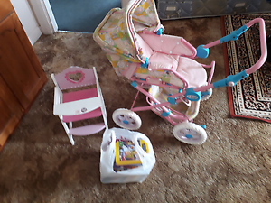 Childs pram , high chair and assorted dvds Ulverstone Central Coast Preview