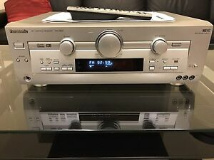 Panasonic AMP A/V Receiver Quality Build EX Condition Algester Brisbane South West Preview