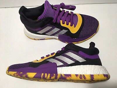 adidas Marquee Boost Low Basketball Purple Shoes Sz 8 Mens Brandon Ingram G27746