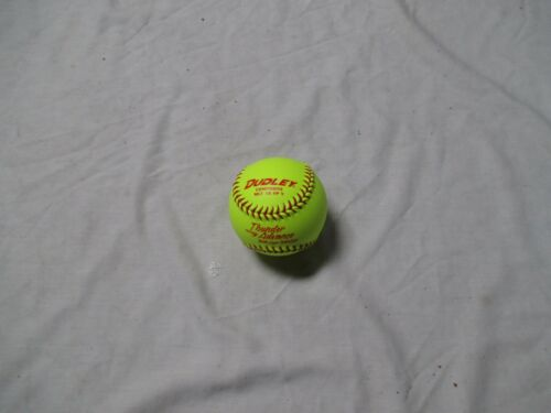 "DUDLEY MLT 12 FP Y THUNDER ADVANCE  FASTPITCH 12 "" SOFTBALL(ONE DOZEN)"