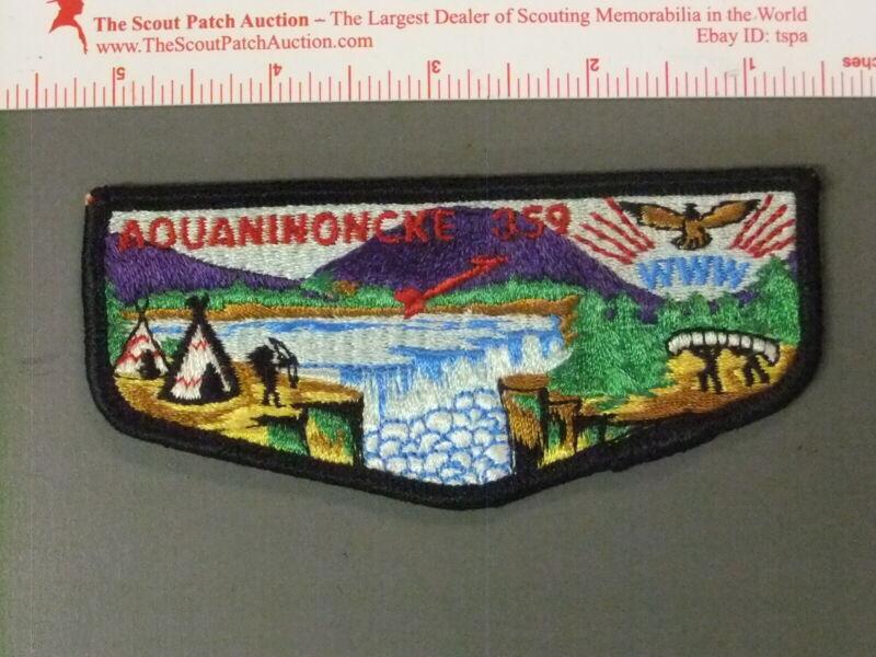 Boy Scout OA 359 Aquaninoncke First Flap 6576JJ