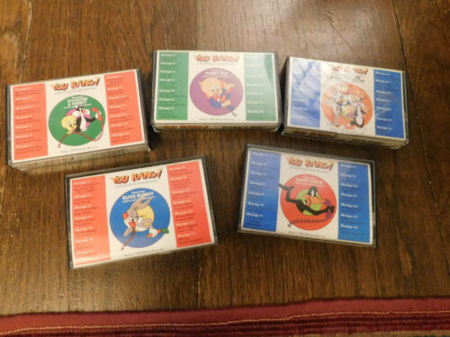 Lot Vtg Bugs Bunny Porky Pig Holiday You Rang? Answering Machine Cassette Tapes