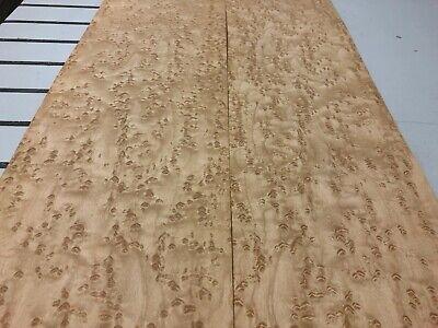 Birdseye Maple Wood Veneer 2 Sheets 94 X 6 12 519e