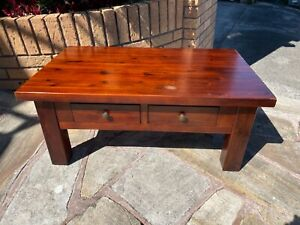 Solid timber coffee table for only $30