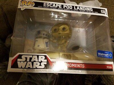 Funko Pop! Star Wars Movie Moments Escape Pod Landing #222 Walmart Exclusive