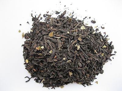 Black Currant Flavored Tea 16 oz Loose Leaf One Pound Atlantic Spice Black Currant Flavored Tea