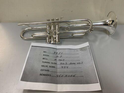 Schilke Silver Plate Bb Trumpet