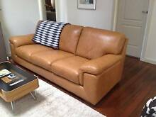 Barely Used 3 Seater Leather Couch North Strathfield Canada Bay Area Preview