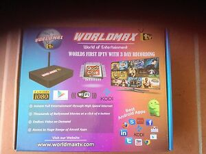WORLDMax IPTV HD Box - City, North Shore & Suburbs Lindfield Ku-ring-gai Area Preview