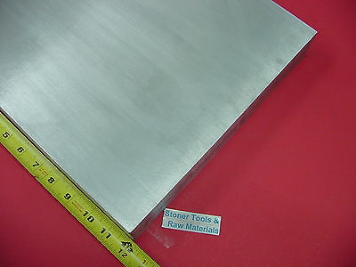 12 X 12 Aluminum 6061 Flat Bar 12 Long Solid T6511 .50 Plate Mill Stock