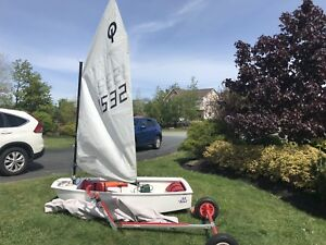 2011 Optimist Sailing Dinghy: sold PPU