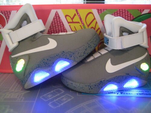 Back to the Future - KIDS Mag Upgrade Swoosh & Decals - Shoes Not Included