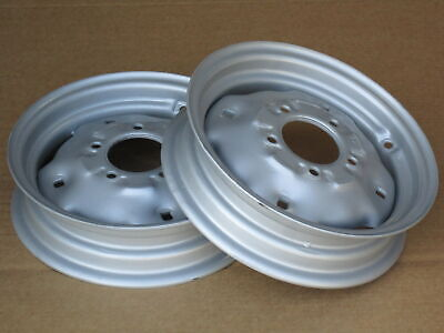 2 Wheel Rims 3.0x12 For Ih International 154 Cub Lo-boy 184 185 Farmall 330 340