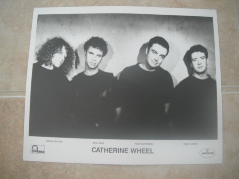 Catherine Wheel Futter Sims Hawes Dickinson B&W 8x10 Promo Photo Picture