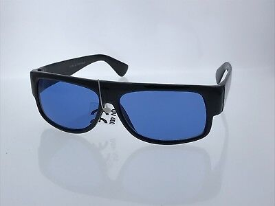 e1c186c005 Black Locs Sunglasses Blue Lens Mad Doggers Cholo Lowrider OG Gafas Shades  for sale Livermore