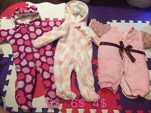 Fall/winter baby clothes(0-3m)