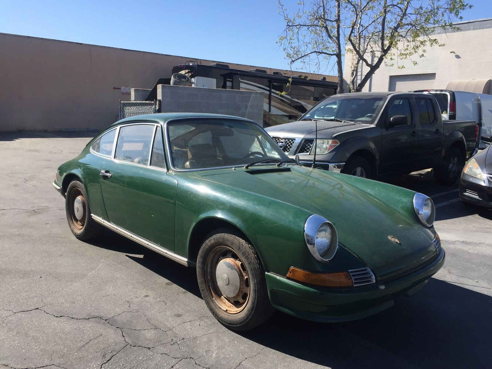1969 Porsche 912 Coupe Matching Project Used Porsche 912