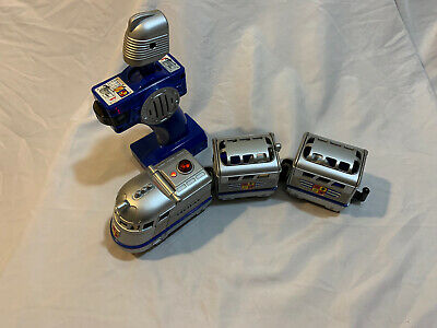 TESTED Fisher Price Remote Control GeoTrax Knight&Sir John Train Set~SHIPS FREE