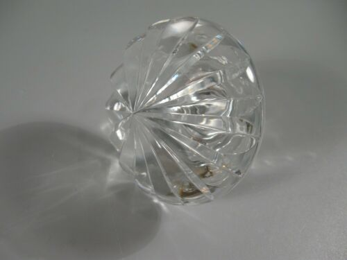 Large Crystal Decanter Stopper