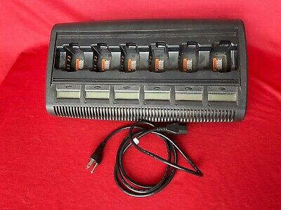 Motorola Impres Gang Charger Wpln4198a With Lcd Displays Ht750 Ht1250 Pr860