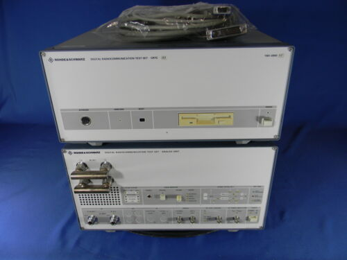 Rohde & Schwarz CRTC02 Digital Radio Communication Test Complete Set