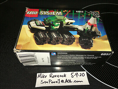 Lego 6852 – Sonar Security - 100% Complete W/ BOX, INSTRUCTIONS
