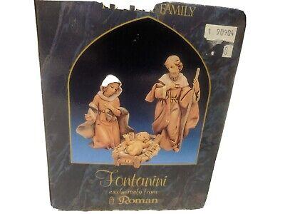 fontanini holy family nativity set