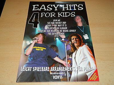 Easy Hits for Kids - Band 4 - Noten und Text für Klavier - Piano - KDM
