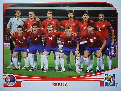 Serbien Wm (Panini 296 Srbija Serbien FIFA WM 2010 Südafrika)