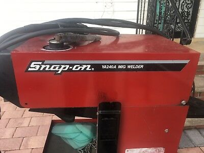 Snap-on Ya240a Mig Welder