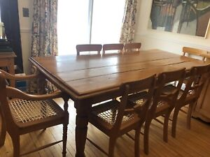 South African Yellow Wood furniture pieces