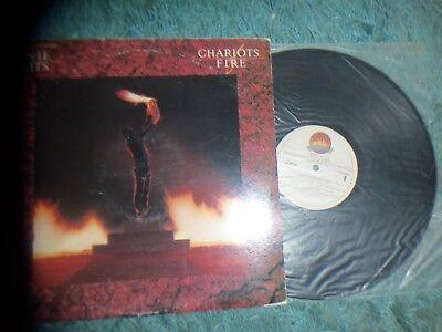 SOUNDTRACK - CHARIOTS OF FIRE - QUEST- IMPORT - QUINCY JONES - 1982 - £10